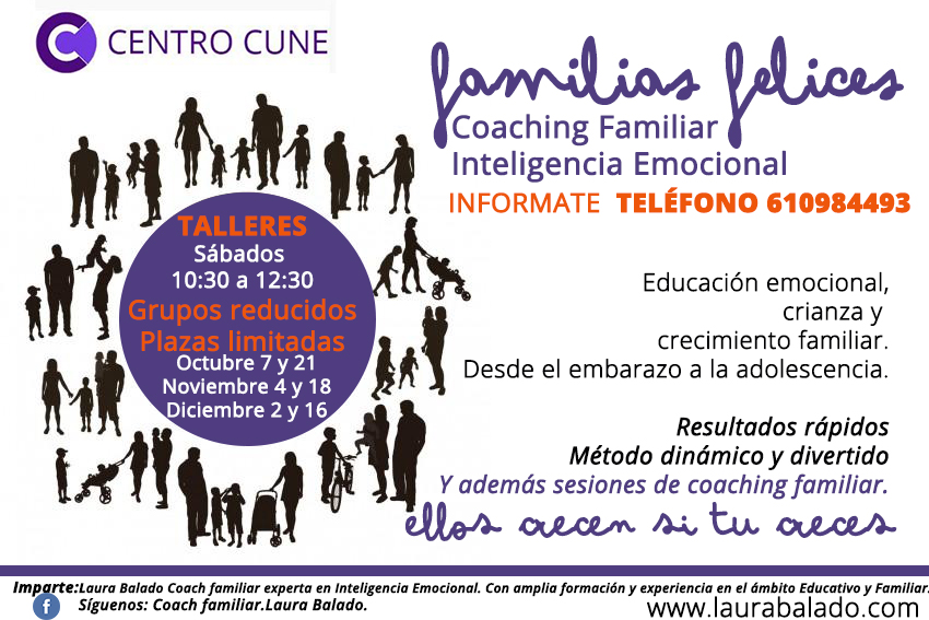 Centro CUNE, Laura Balado, Coaching, Coach, Educación Emocional, Inteligencia Emocional, familia, Narón, Ferrol, Ferrolterra, Galicia, A Coruña, La Coruña, infancia, adolescencia, disciplina positiva, PNL