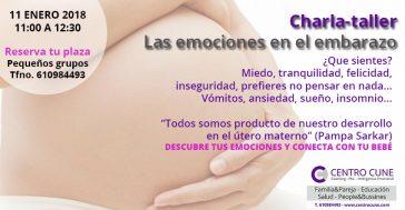 Las emociones en el embarazo. Coaching Inteligencia emocional Laura Balado Centro Cune