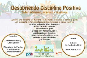 Taller Intensivo. Disciplina Positiva. Coruña. @ JUNGLE WORLD | Ferrol | Galicia | España