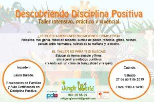 A Coruña. Descubriendo Disciplina Positiva @ Jungle World | Oleiros | Galicia | España