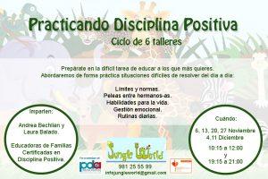 Practicando disciplina positiva. Coruña. @ JUNGLE WORLD | Ferrol | Galicia | España