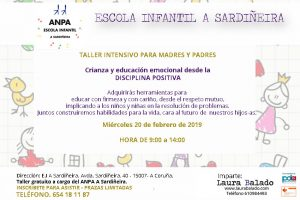 A Coruña, E.I A Sardiñeira. Educación y Crianza consciente desde la Disciplina Positiva y E. Emocional. @ Escuela Infantil A Sardiñera. | Oleiros | Galicia | España