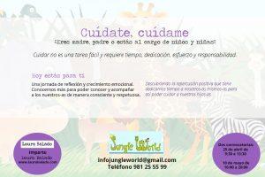 A Coruña. Cuídate, cuídame para madres, padres y personas que cuidan a otras personas @ Jungle World | Oleiros | Galicia | España