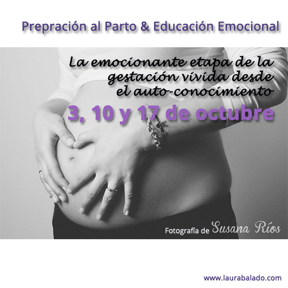 calendario clases de preparación al parto