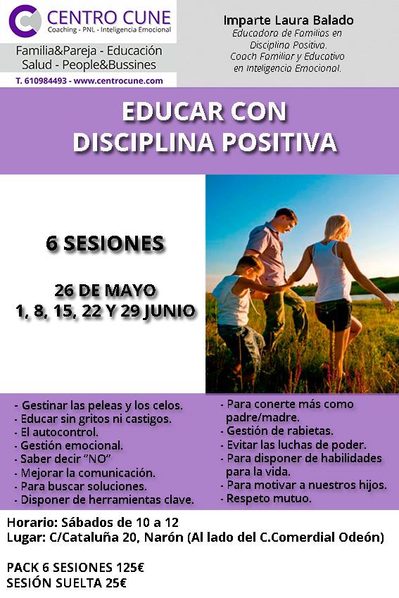 disciplina positiva, Narón, Galicia, familia