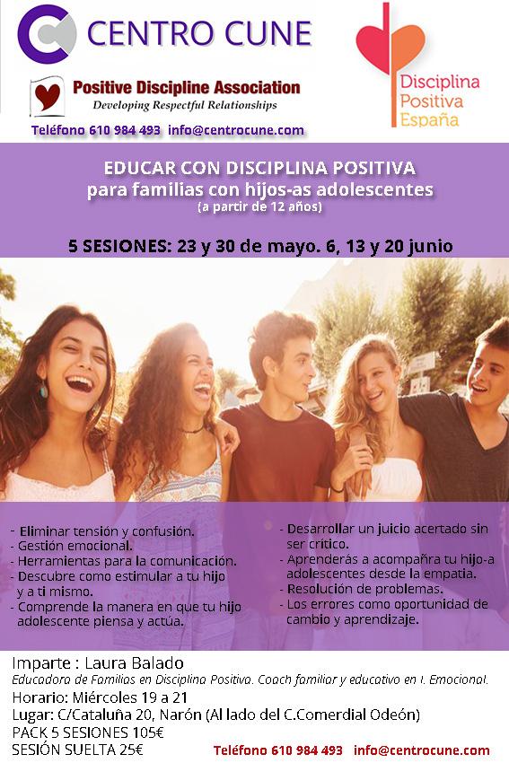 disciplina positiva adolescentes, Narón